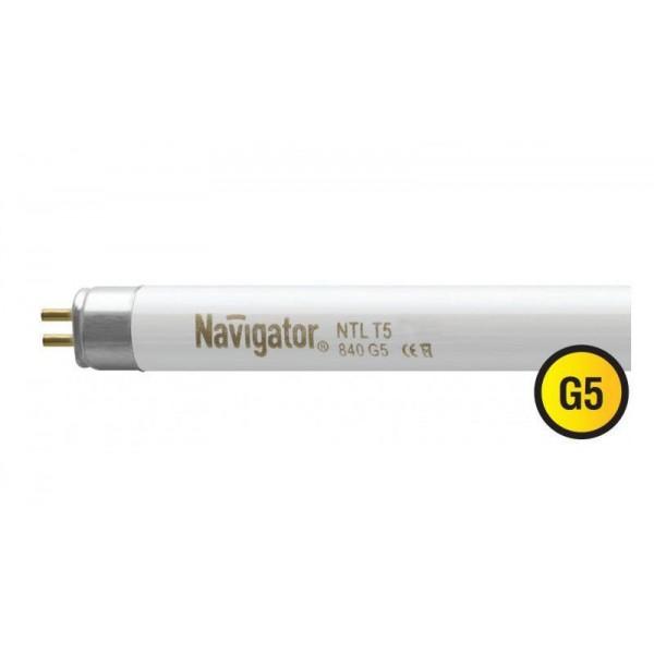 Лампа люминесцентная 94 109 NTL-T5-21-840-G5 21Вт T5 4200К G5 Navigator 94109