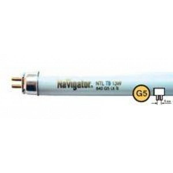 Лампа люминесцентная 94 102 NTL-T4-12-840-G5 12Вт T4 4200К G5 Navigator 94102