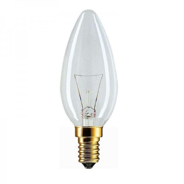 Лампа накаливания Stan 60Вт E14 230В B35 CL 1CT/10X10 Philips 926000003017