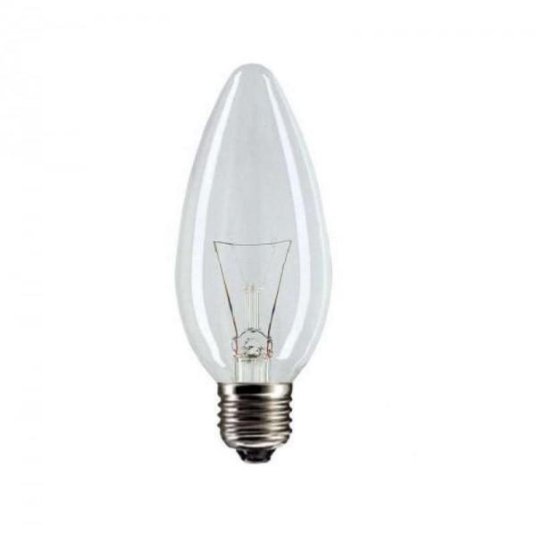 Лампа накаливания Stan 40Вт E27 230В B35 CL 1CT/10X10 Philips 921492044218