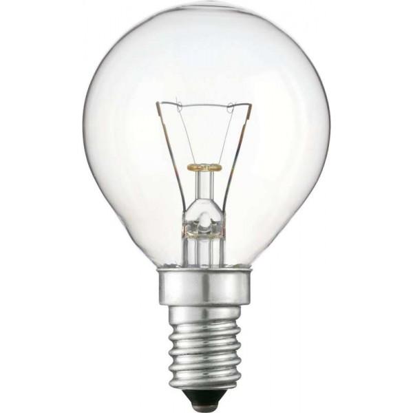 Лампа накаливания Stan 40Вт E14 230В P45 CL 1CT/10X10 Philips 926000006511