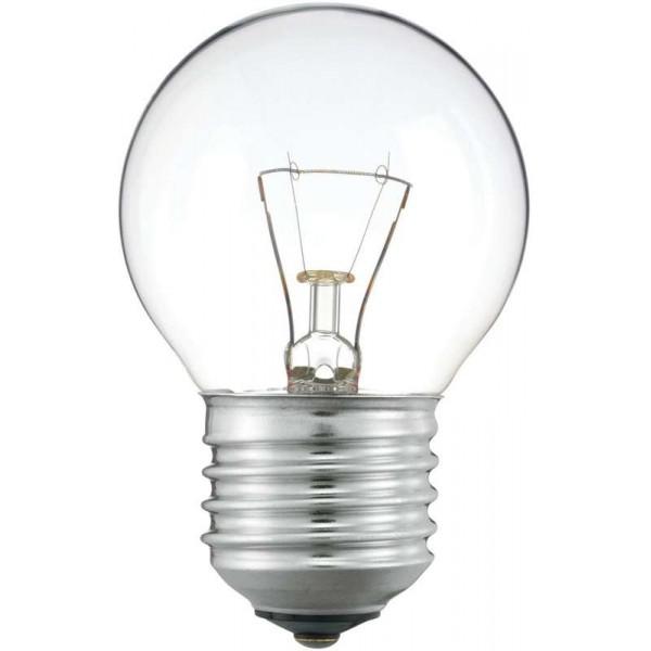 Лампа накаливания Stan 60Вт E27 230В P45 CL 1CT/10X10 Philips 926000005857