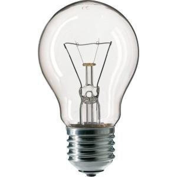 Лампа накаливания Stan 40Вт E27 230В A55 CL 1CT/12X10 PHILIPS 926000000885
