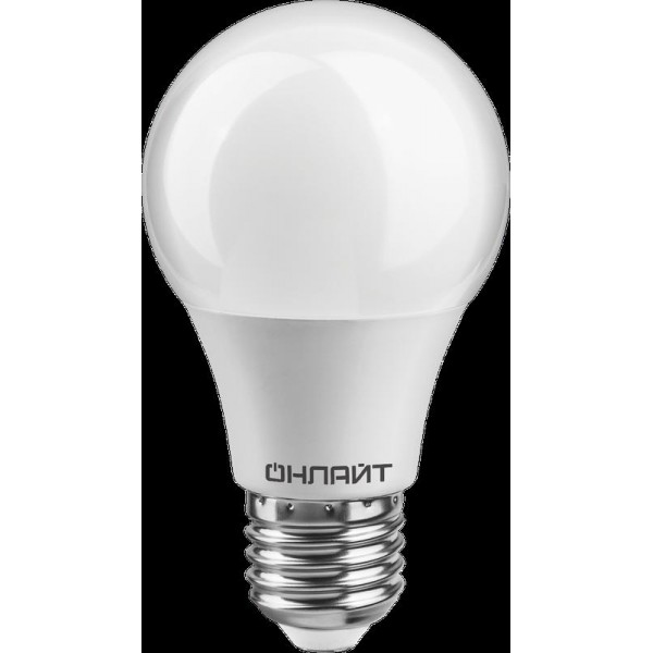 Лампа 82 910 OLL-A55-10-230-2.7K-E27-PROMO 10Вт ОНЛАЙТ 82910