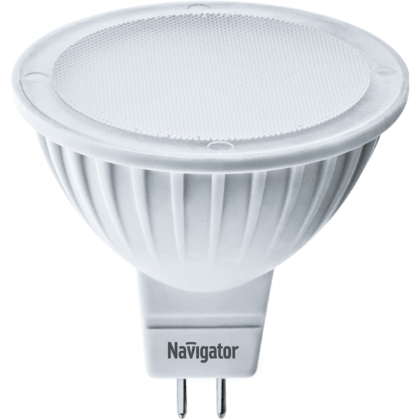 Лампа светодиодная 94 263 NLL-MR16-5-230-3K-GU5.3 5Вт 3000К тепл. бел. GU5.3 360лм 170-260В Navigator 94263