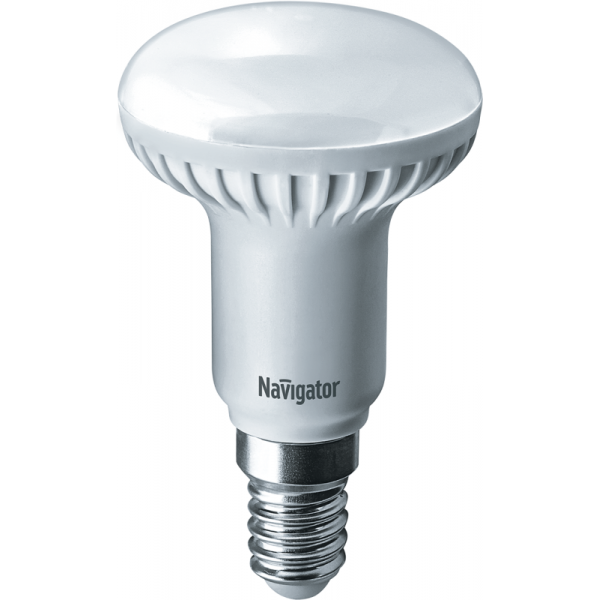 Лампа светодиодная 94 259 NLL-R50-5-230-2.7K-E14 5Вт 2700К тепл. бел. E14 375лм 220-240В Navigator 94259