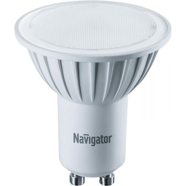 Лампа светодиодная 94 264 NLL-PAR16-5-230-3K-GU10 5Вт 3000К тепл. бел. GU10 360лм 170-260В Navigator 94264