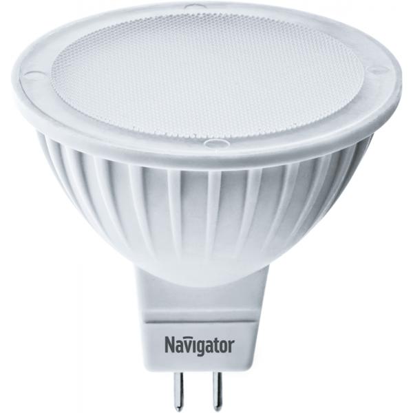 Лампа светодиодная 94 129 NLL-MR16-5-230-4K-GU5.3 5Вт 4000К бел. GU5.3 380лм 170-260В Navigator 94129