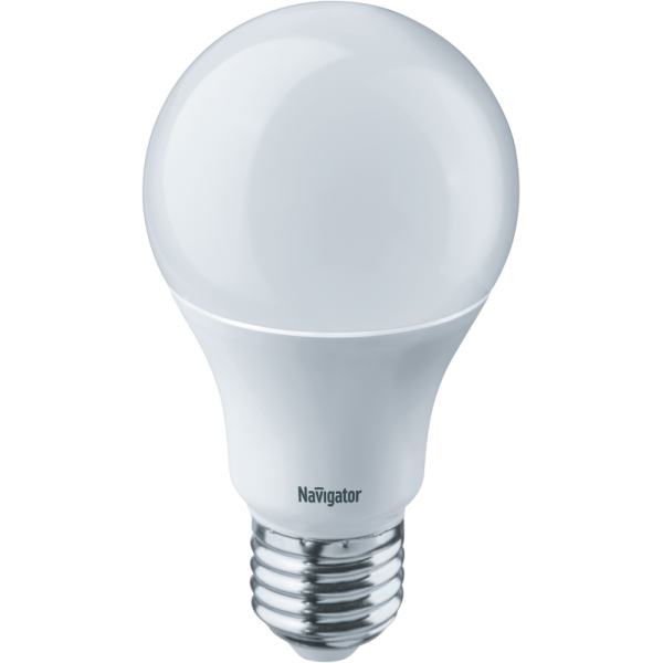 Лампа светодиодная 94 388 NLL-A60-10-230-4K-E27 10Вт грушевидная 4000К бел. E27 820лм 170-260В Navigator 94388
