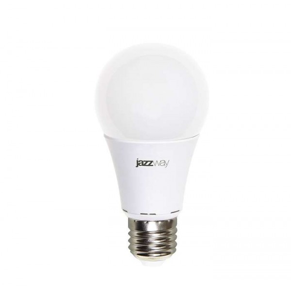 Лампа светодиодная PLED-ECO-A60 7Вт грушевидная 5000К холод. бел. E27 570лм 230В JazzWay 1033192