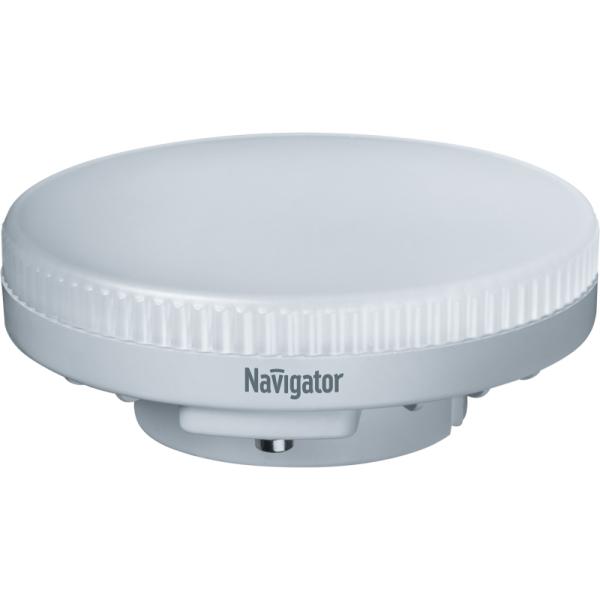 Лампа светодиодная 94 249 NLL-GX53-6-230-2.7K 6Вт таблетка 2700К тепл. бел. GX53 440лм 220-240В Navigator 94249