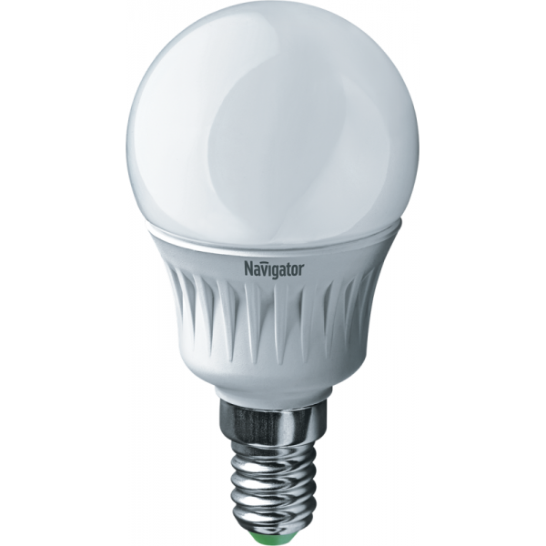 Лампа светодиодная 94 478 NLL-P-G45-5-230-4K-E14 5Вт шар 4000К бел. E14 370лм 220-240В Navigator 94478