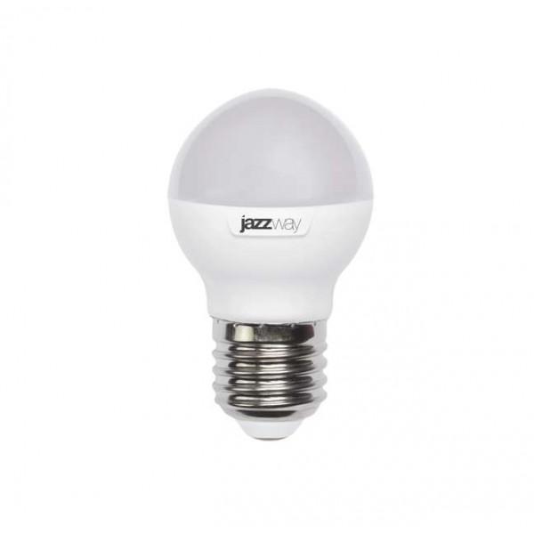 Лампа светодиодная PLED-SP-G45 7Вт шар 5000К холод. бел. E27 540лм 230В JazzWay 1027887-2