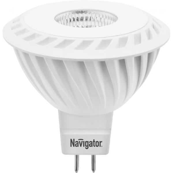 Лампа светодиодная 94 351 NLL-MR16-7-230-4K-GU5.3-60D 7Вт 4000К бел. GU5.3 525лм 170-260В Navigator 94351