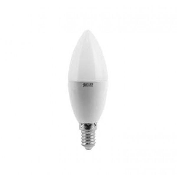Лампа светодиодная Elementary 6Вт свеча 3000К тепл. бел. E14 420лм 180-240В Gauss 33116