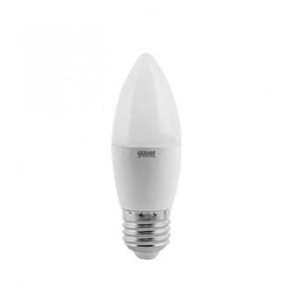 Лампа светодиодная Elementary 6Вт свеча 3000К тепл. бел. E27 420лм 180-240В Gauss 33216