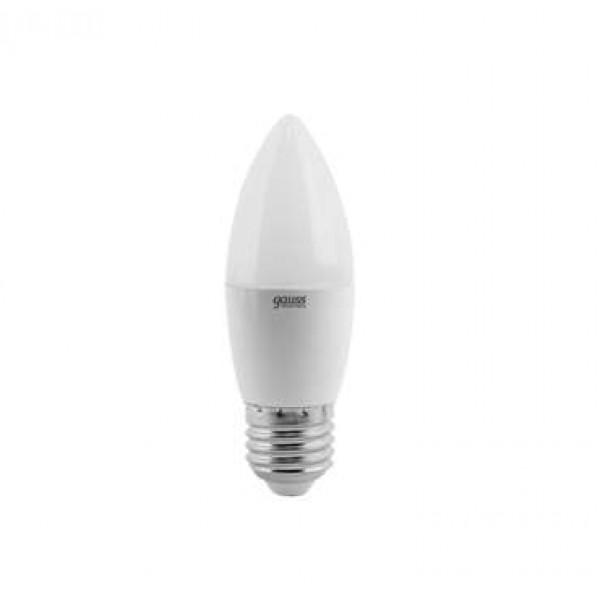 Лампа светодиодная Elementary 6Вт свеча 4100К бел. E27 450лм 180-240В Gauss 33226