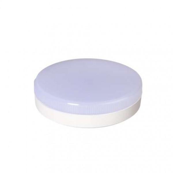 Лампа светодиодная PLED-GX53 12Вт таблетка 3000К мат. тепл. бел. GX53 980лм 230В JazzWay 1029102