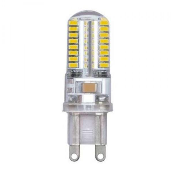Лампа светодиодная PLED-G9 5Вт капсульная 4000К бел. G9 300лм 220-230В JazzWay 1032133B