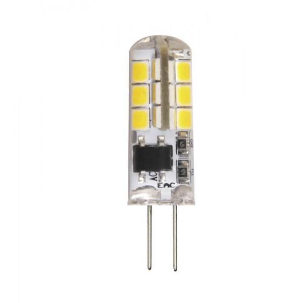 Лампа светодиодная PLED-G4 3Вт капсульная 2700К тепл. бел. G4 200лм 220-230В JazzWay 1032041