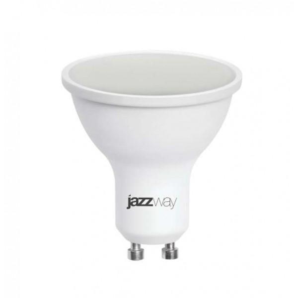 Лампа светодиодная PLED-SP 7Вт 3000К тепл. бел. GU10 520лм 230В JazzWay 1033550