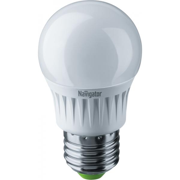 Лампа светодиодная 94 469 NLL-G45-7-230-4K-E27 7Вт шар 4000К бел. E27 560лм 176-264В Navigator 94469