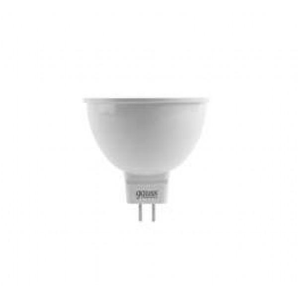 Лампа светодиодная Elementary MR16 7Вт 4100К бел. GU5.3 550лм 220-240В Gauss 13527