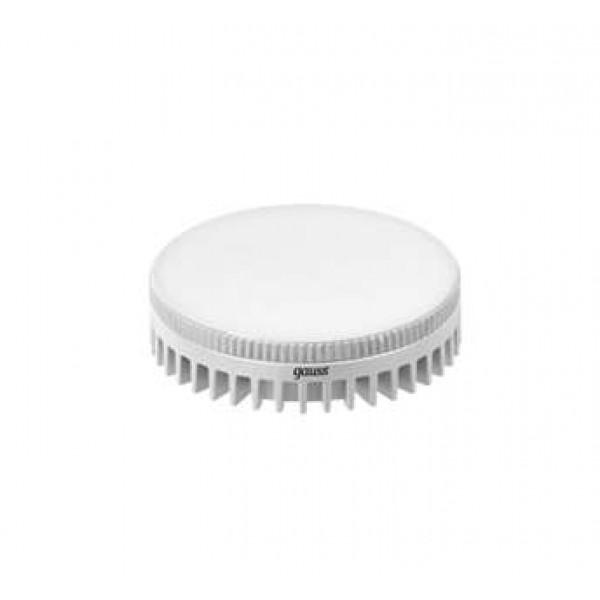 Лампа светодиодная Black GX53 6Вт таблетка 4100К бел. GX53 490лм 150-265В Gauss 108008206