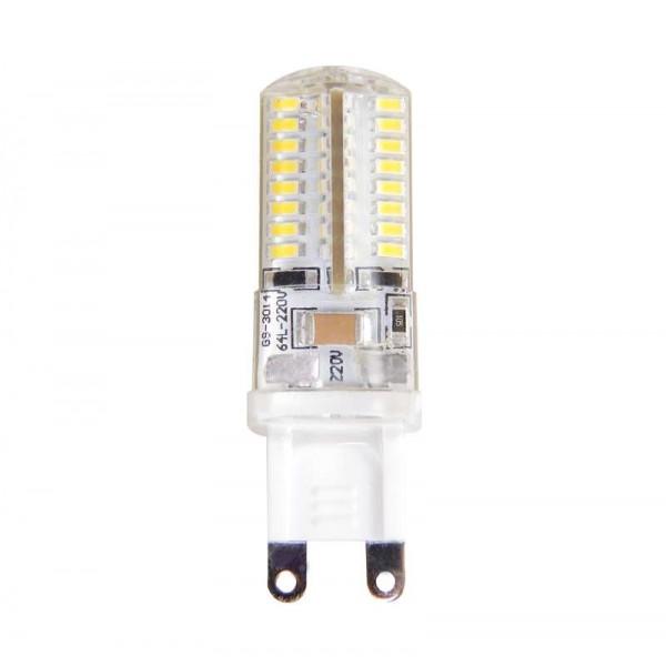 Лампа светодиодная PLED-G9 7Вт капсульная 4000К бел. G9 400лм 220В JazzWay 1039095B