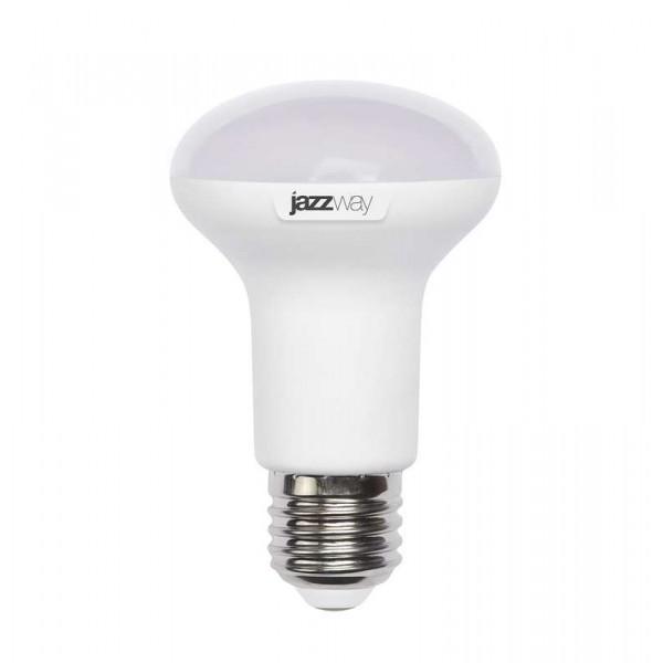 Лампа светодиодная PLED-SP R63 8Вт 3000К тепл. бел. E27 630лм 230В JazzWay 1033642