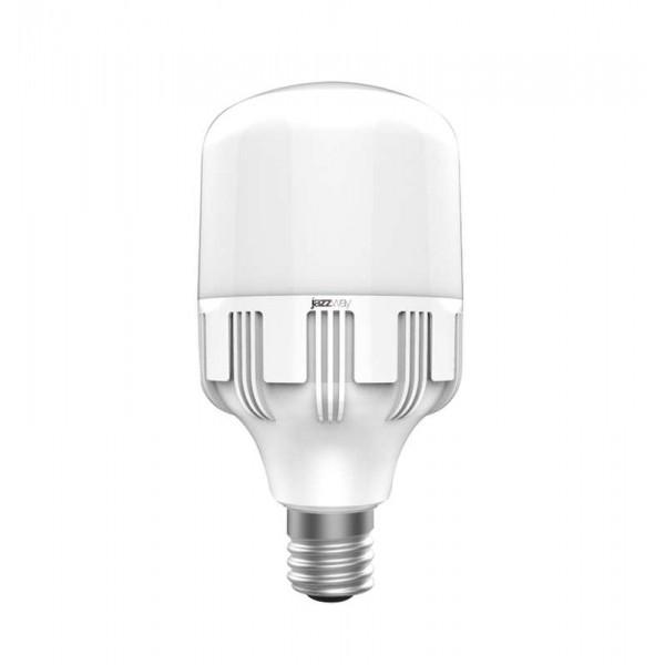 Лампа светодиодная PLED-HP-T120 40Вт 4000К 3400лм E27 с переходником на E40 бел. JazzWay 1038937