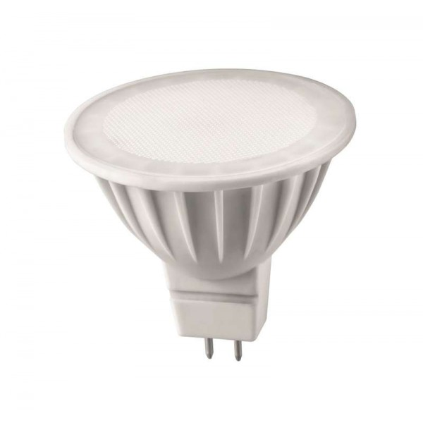 Лампа светодиодная 71 640 OLL-MR16-7-230-3K-GU5.3 7Вт 3000К тепл. бел. GU5.3 460лм 176-264В ОНЛАЙТ 71640