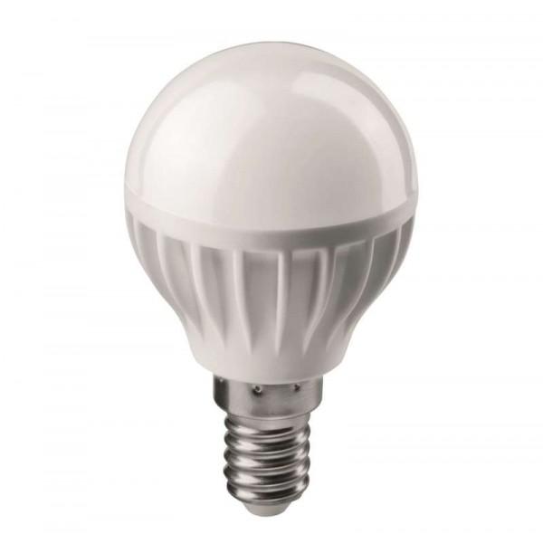 Лампа светодиодная 71 643 OLL-G45-6-230-2.7K-E14 6Вт шар 2700К тепл. бел. E14 450лм 176-264В ОНЛАЙТ 71643