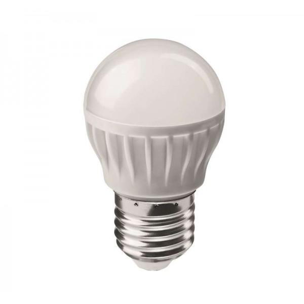 Лампа светодиодная 71 646 OLL-G45-6-230-4K-E27 6Вт шар 4000К бел. E27 470лм 176-264В ОНЛАЙТ 71646