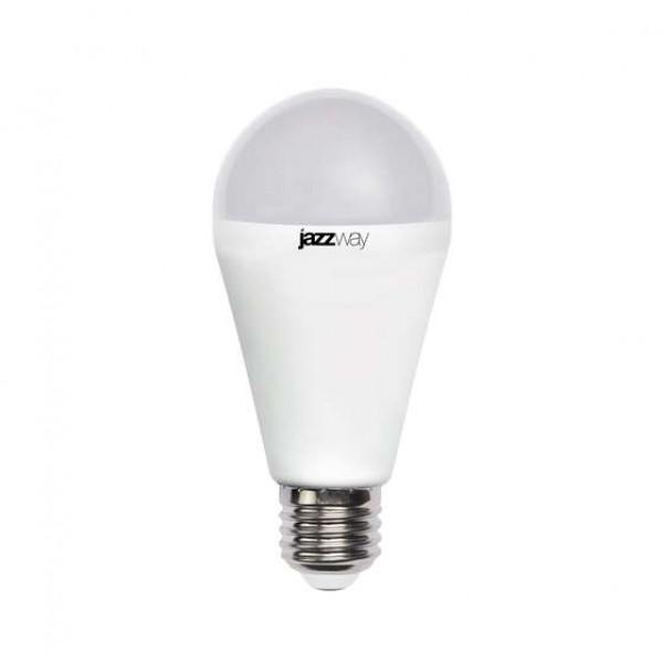 Лампа светодиодная PLED-SP A60 15Вт грушевидная 3000К тепл. бел. E27 1530лм 230В JazzWay 2853028
