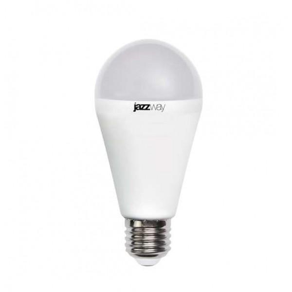 Лампа светодиодная PLED-SP A60 15Вт грушевидная 5000К холод. бел. E27 1530лм 230В JazzWay 2853035