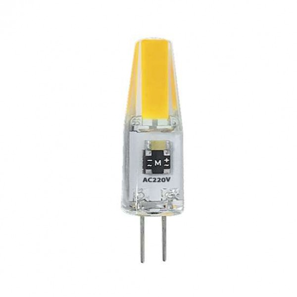 Лампа светодиодная PLED-G4 COB 3Вт капсульная 3000К тепл. бел. G4 240лм 220В JazzWay 2857446