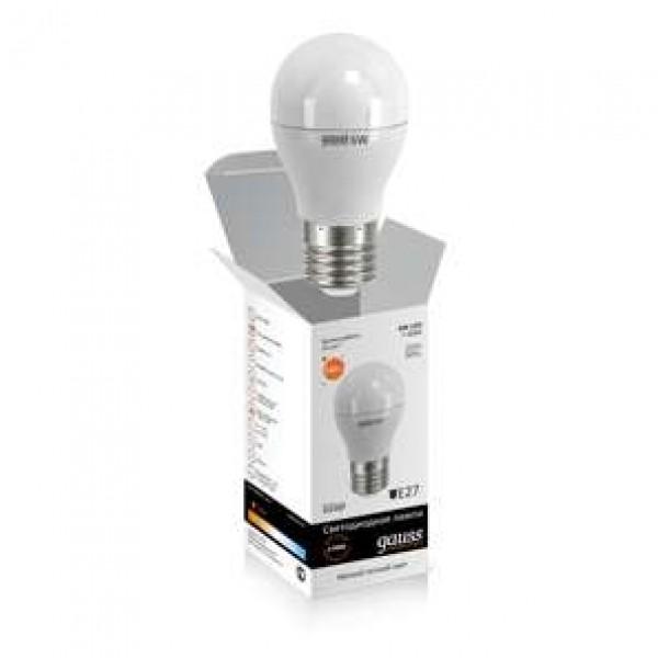 Лампа светодиодная Elementary A60 10Вт грушевидная 3000К тепл. бел. E27 880лм 180-240В Gauss 23210