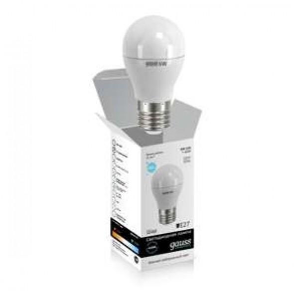 Лампа светодиодная Elementary A60 10Вт грушевидная 4100К бел. E27 920лм 180-240В Gauss 23220