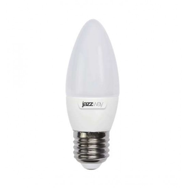 Лампа светодиодная PLED-SP C37 9Вт свеча 5000К холод. бел. E27 820лм 230В JazzWay 5001954A
