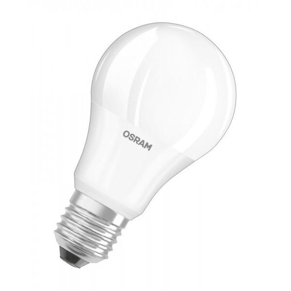 Лампа светодиодная LED STAR CLASSIC A 40 5.5W/865 5.5Вт грушевидная 6500К холод. бел. E27 470лм 220-240В матов. пласт. OSRAM 4052899971523