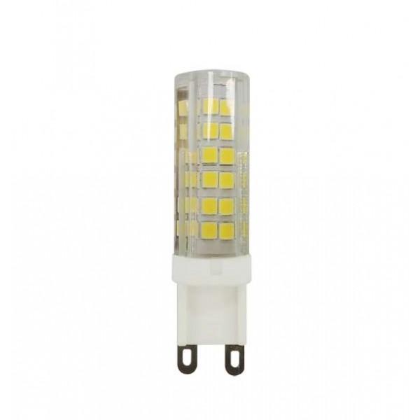 Лампа светодиодная PLED 9Вт капсульная 4000К бел. G9 590лм 175-240В JazzWay 5001008