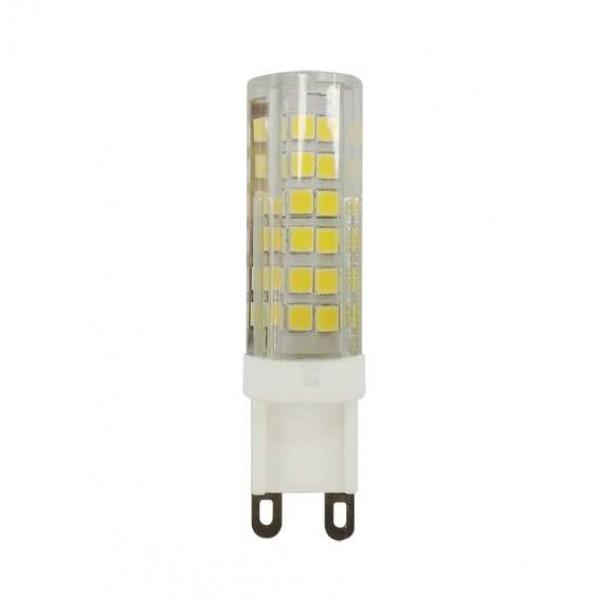 Лампа светодиодная PLED 9Вт капсульная 2700К тепл. бел. G9 590лм 175-240В JazzWay 5001039