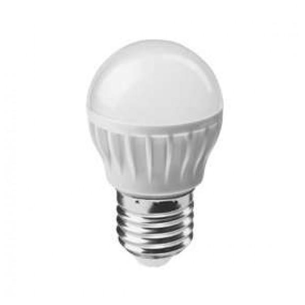 Лампа светодиодная 71 626 OLL-G45-8-230-2.7K-E27 8Вт шар 2700К тепл. бел. E27 560лм 176-264В ОНЛАЙТ 71626