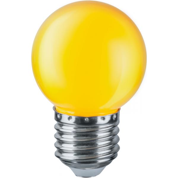 Лампа светодиодная 71 830 NLL-G45-1-230-Y-E27 1Вт шар E27 230В Navigator 71830