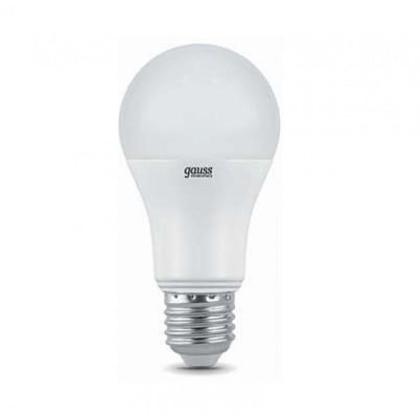 Лампа светодиодная Elementary A60 20Вт грушевидная 6500К холод. бел. E27 1750лм 180-240В Gauss 23239