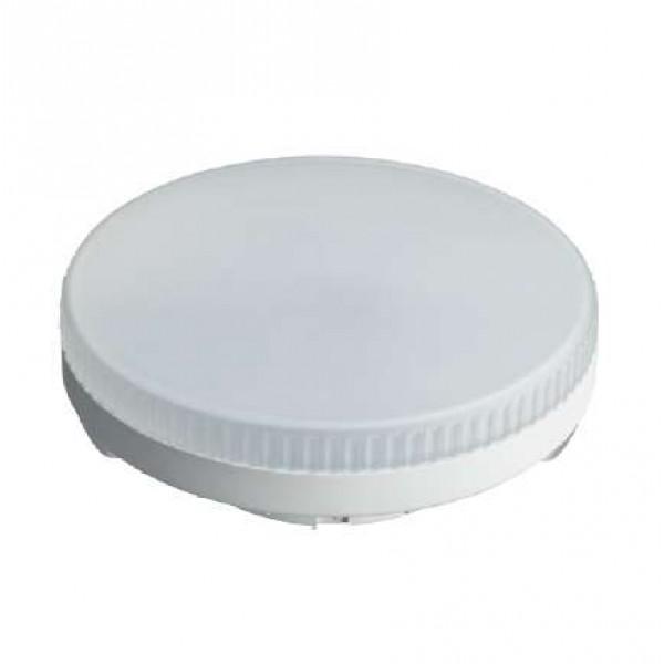 Лампа светодиодная 61 132 OLL-GX53-8-230-6.5K 8Вт таблетка 6500К холод. бел. GX53 640лм 230В ОНЛАЙТ 61132