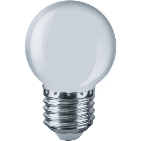 Лампа светодиодная 61 243 NLL-G45-1-230-W-E27 Navigator 61243