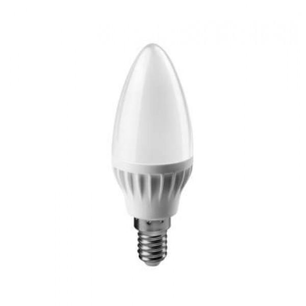 Лампа светодиодная 61 127 OLL-C37-6-230-6.5K-E14-FR 6Вт ОНЛАЙТ 61127