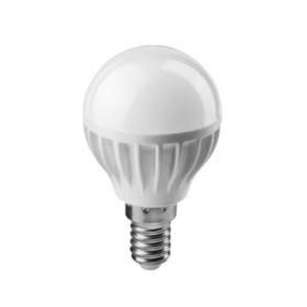 Лампа светодиодная 61 136 OLL-G45-6-230-6.5K-E14 6Вт ОНЛАЙТ 61136